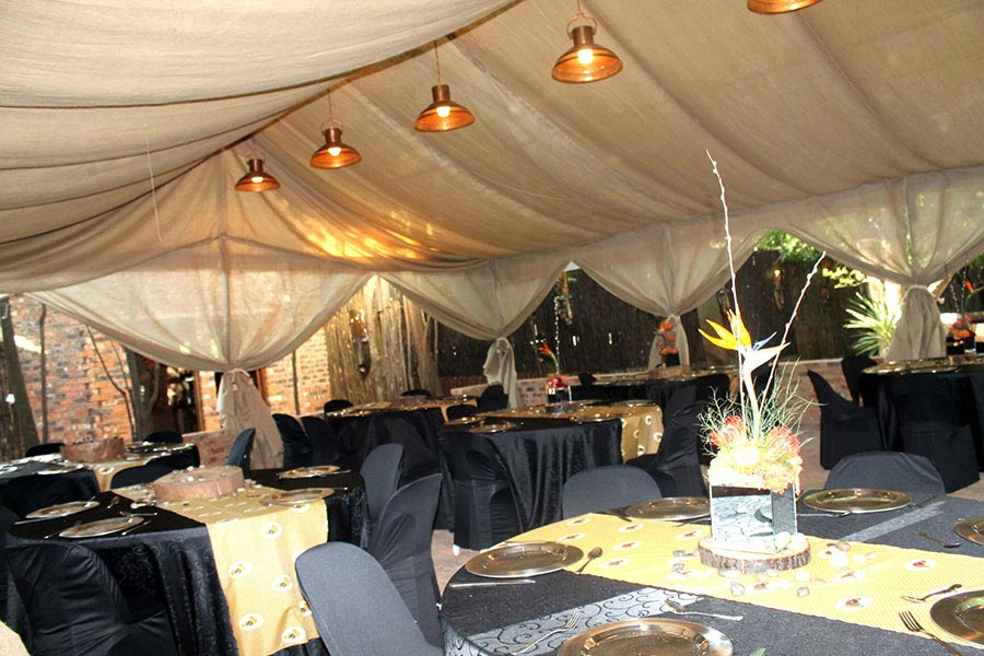 Boma Function at Acorn Lane Guest Estate